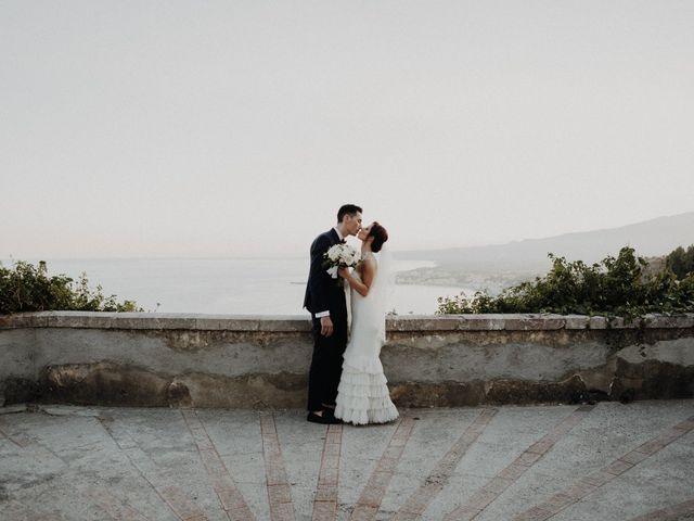 Il matrimonio di Cameron e Michelle a Taormina, Messina 98