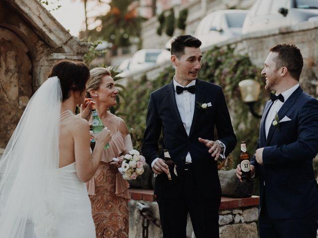 Il matrimonio di Cameron e Michelle a Taormina, Messina 102
