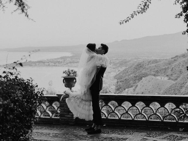 Il matrimonio di Cameron e Michelle a Taormina, Messina 104