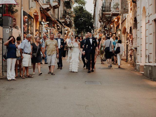 Il matrimonio di Cameron e Michelle a Taormina, Messina 106