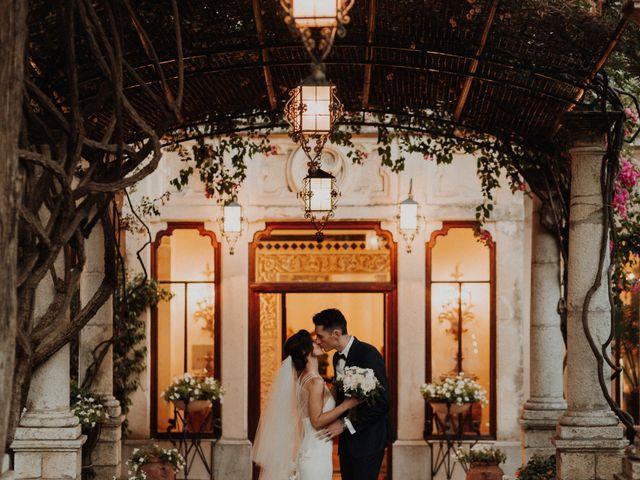 le nozze di Michelle e Cameron