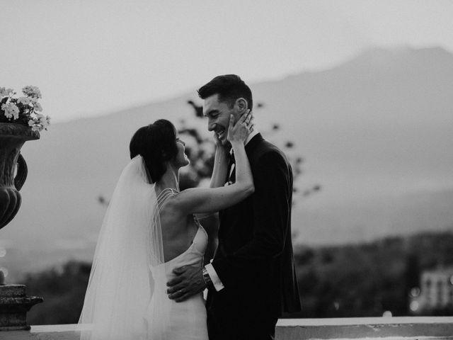 Il matrimonio di Cameron e Michelle a Taormina, Messina 109