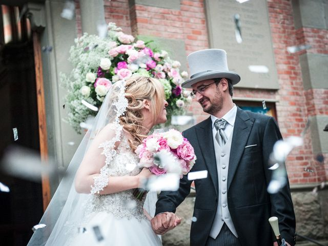 le nozze di Veronica e Ramon