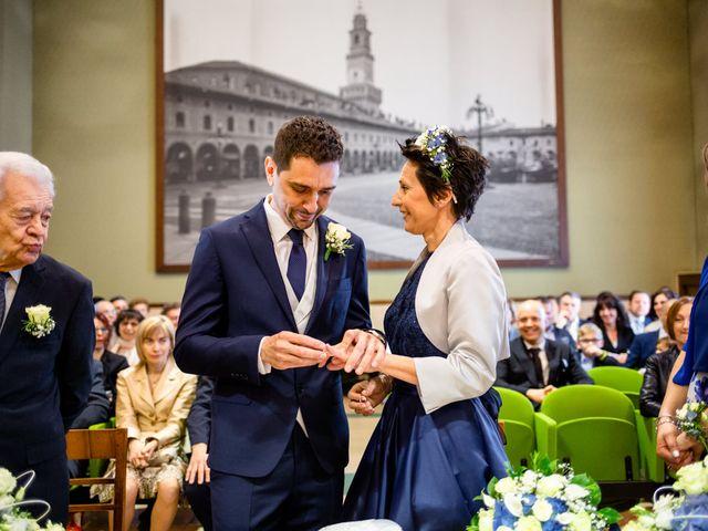 Il matrimonio di Paolo e Clara a Vigevano, Pavia 43