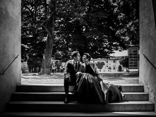 Il matrimonio di Paolo e Clara a Vigevano, Pavia 1