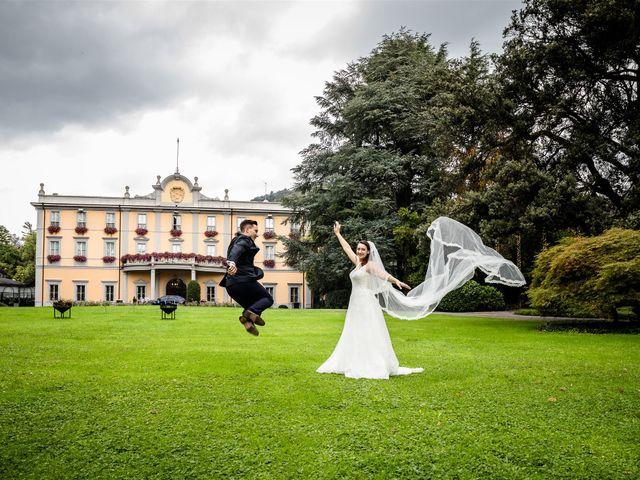 Il matrimonio di Michele e Angelica a Bergamo, Bergamo 60