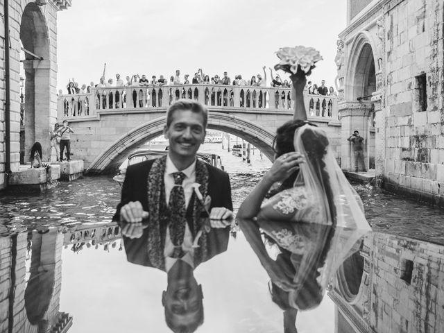 Il matrimonio di Matteo e Metella a Venezia, Venezia 97