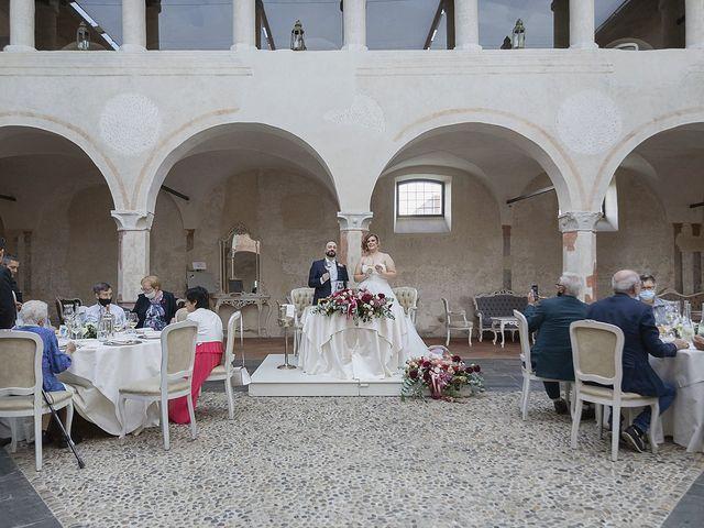 Il matrimonio di Diego e Alice a Bariano, Bergamo 26