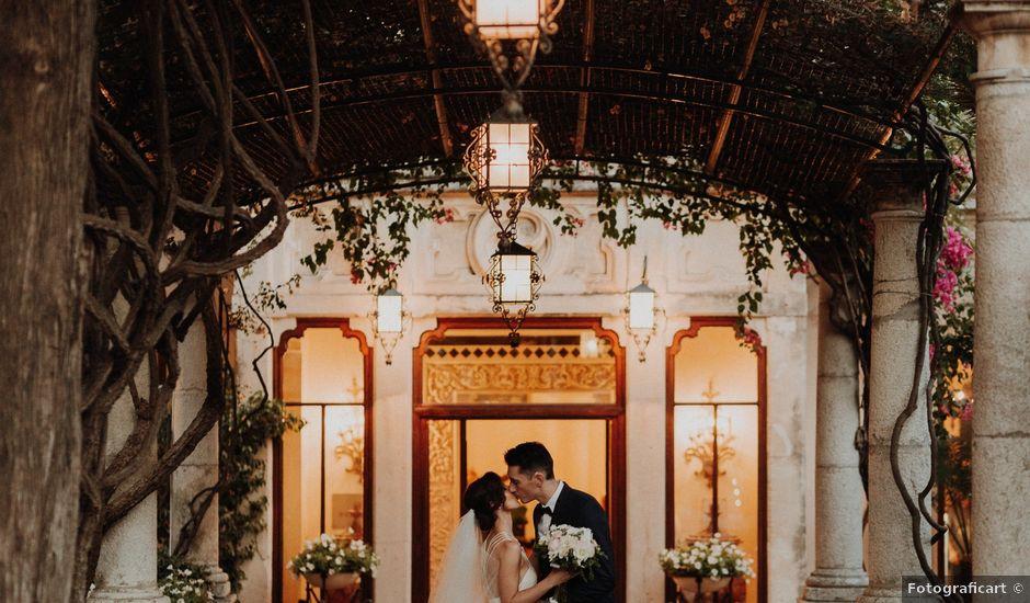 Il matrimonio di Cameron e Michelle a Taormina, Messina