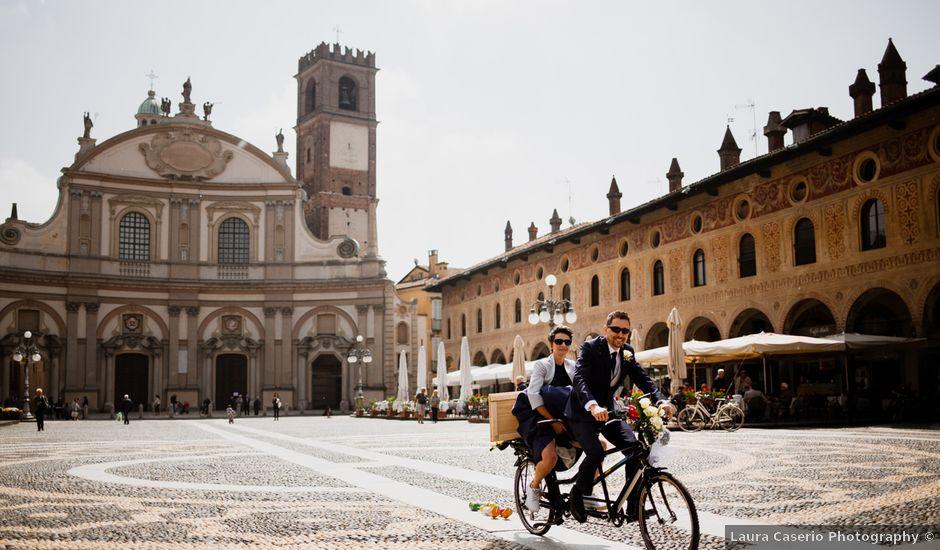 Il matrimonio di Paolo e Clara a Vigevano, Pavia
