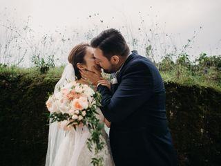 Le nozze di Masami e Alessandro