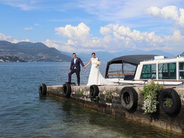 Il matrimonio di Andrea e Miriam a Castelletto sopra Ticino, Novara 1
