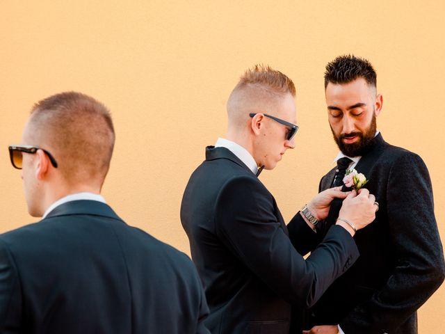 Il matrimonio di Orazio e Federica a Città Sant'Angelo, Pescara 9