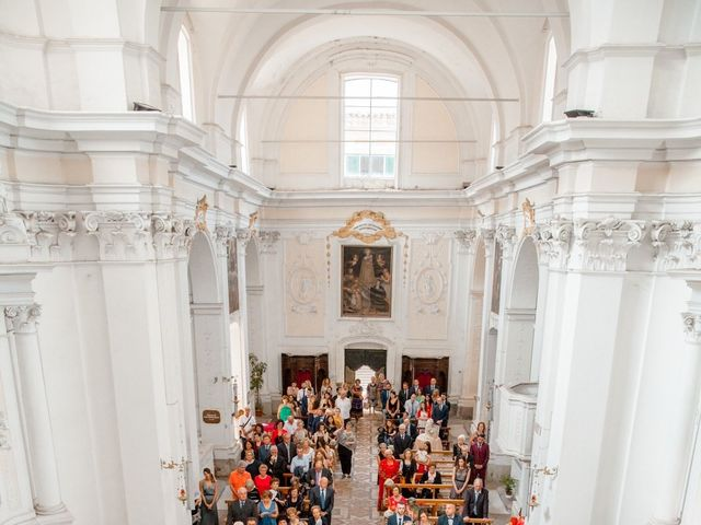 Il matrimonio di Orazio e Federica a Città Sant'Angelo, Pescara 34