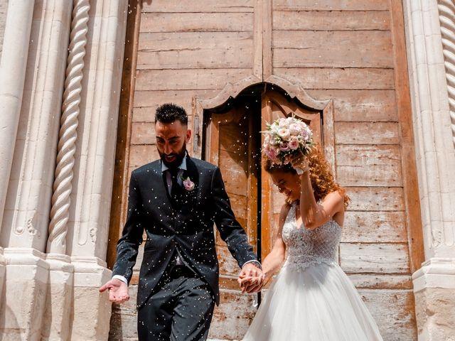 Il matrimonio di Orazio e Federica a Città Sant'Angelo, Pescara 38
