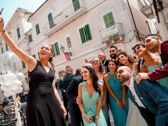 Il matrimonio di Orazio e Federica a Città Sant'Angelo, Pescara 39