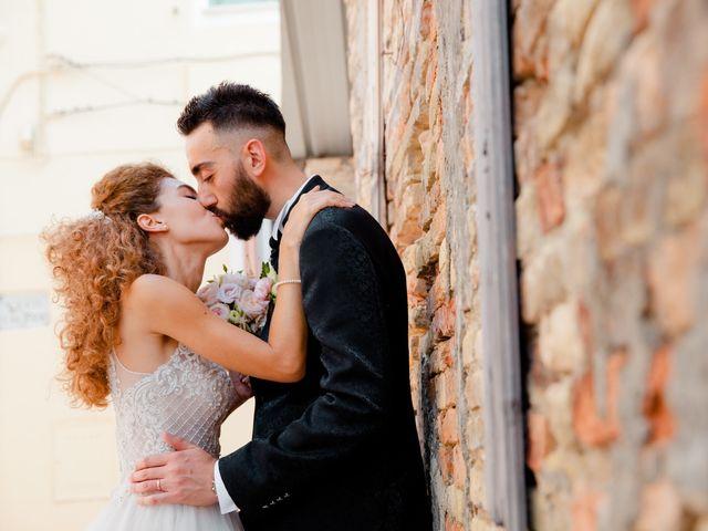 Il matrimonio di Orazio e Federica a Città Sant'Angelo, Pescara 43