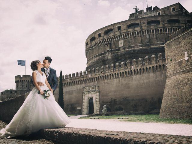 Le nozze di Ylenia e Franco