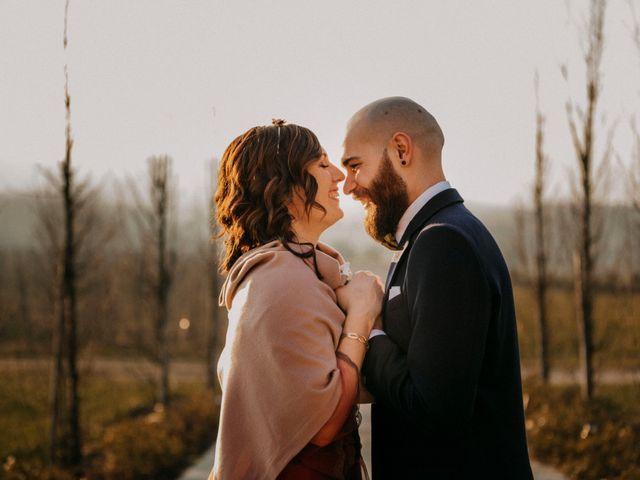 Il matrimonio di Davide e Elisa a Buttigliera Alta, Torino 11