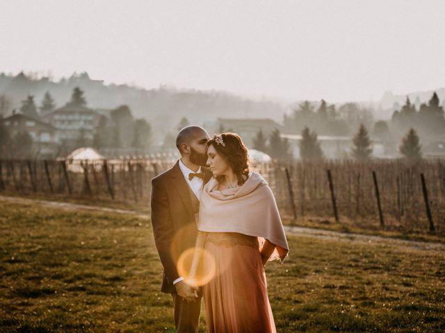 Il matrimonio di Davide e Elisa a Buttigliera Alta, Torino 13