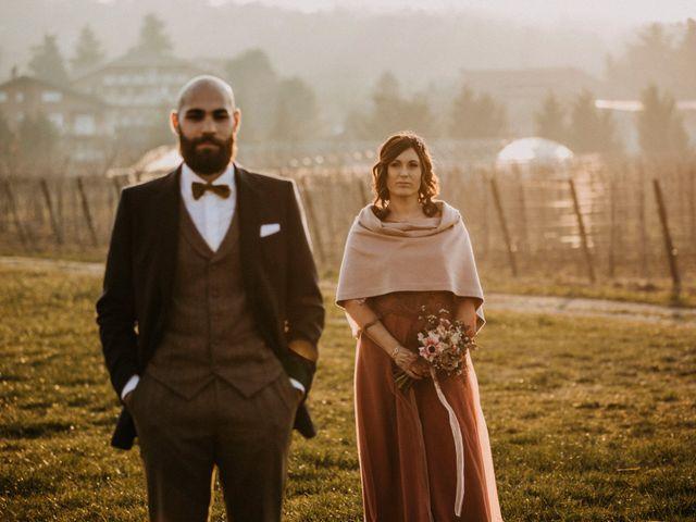 Il matrimonio di Davide e Elisa a Buttigliera Alta, Torino 14