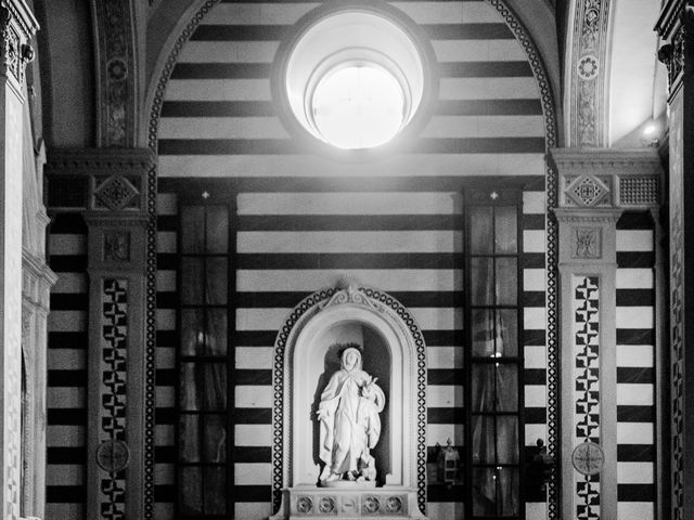 Il matrimonio di Francoise e Julia a Cortona, Arezzo 21