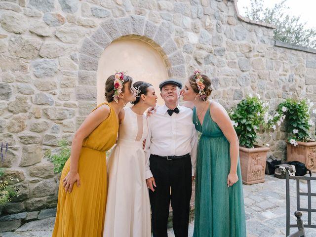 Il matrimonio di Francoise e Julia a Cortona, Arezzo 32