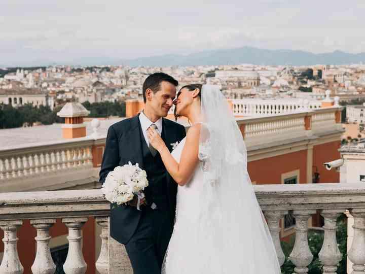 le nozze di Lia e Emanuele