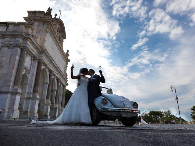 Il matrimonio di Emanuele e Lia a Roma, Roma 58