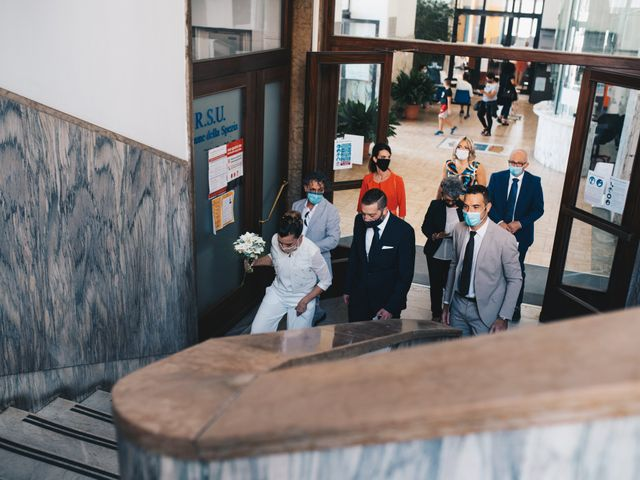 Il matrimonio di Gianluca e Mariaelena a La Spezia, La Spezia 42
