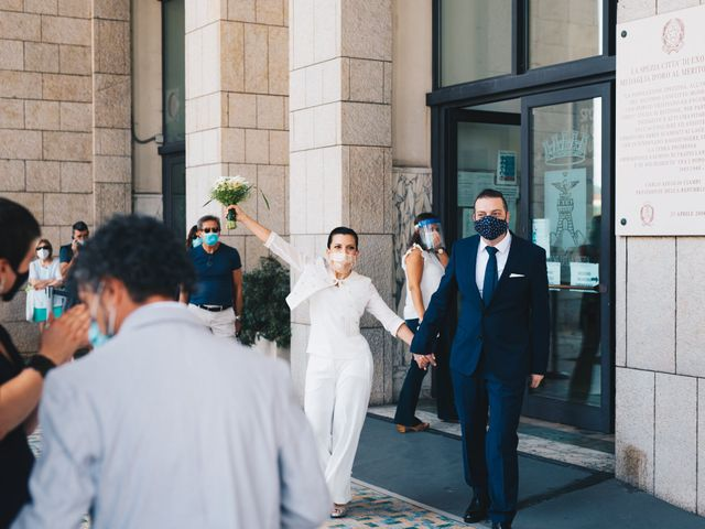 Il matrimonio di Gianluca e Mariaelena a La Spezia, La Spezia 58