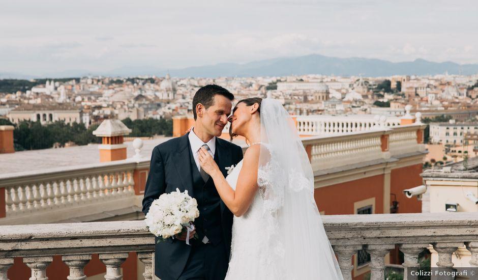 Il matrimonio di Emanuele e Lia a Roma, Roma