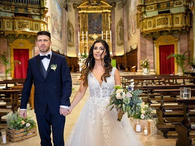 Il matrimonio di Fabio e Deborah a Travagliato, Brescia 46