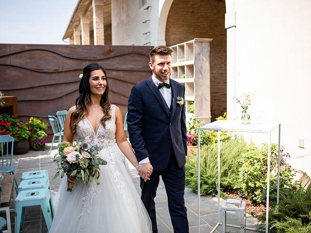 Il matrimonio di Fabio e Deborah a Travagliato, Brescia 56