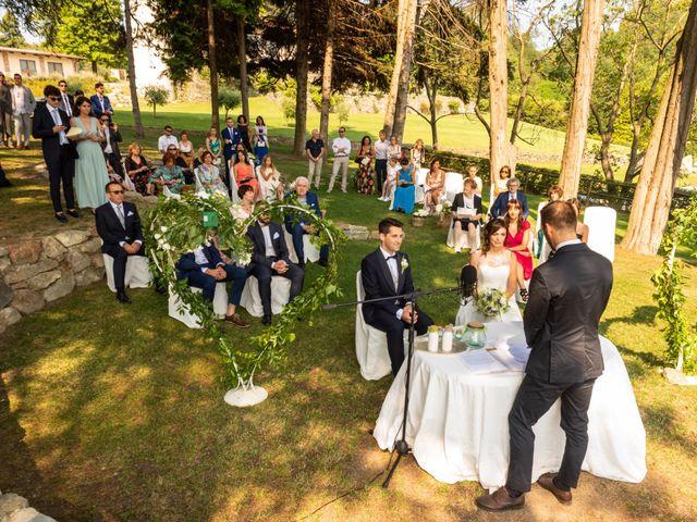 Il matrimonio di Stefano e Giulia a Roppolo, Biella 13
