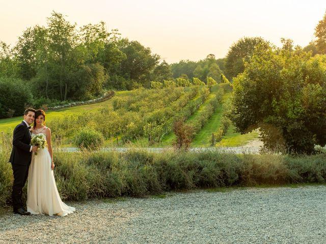 Il matrimonio di Stefano e Giulia a Roppolo, Biella 25