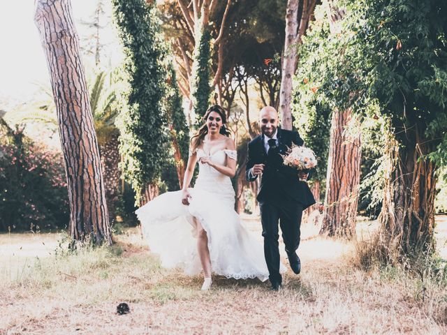 Il matrimonio di Valerio e Sara a Maccarese, Roma 1