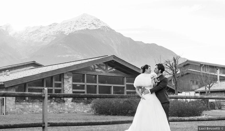 Il matrimonio di Andrea e Elena a Mantello, Sondrio