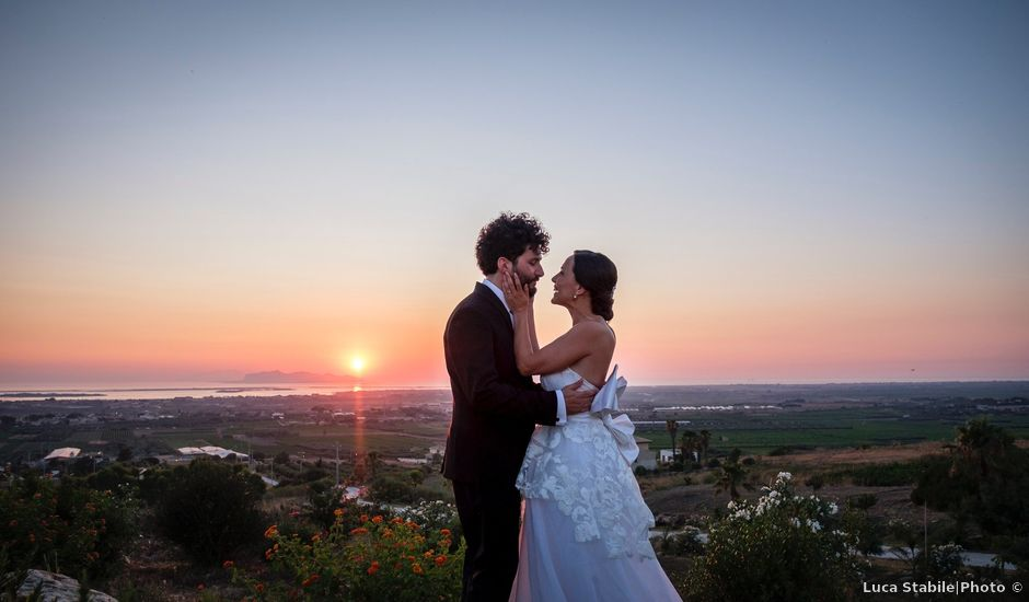 Il matrimonio di Fausto e Silvia a Marsala, Trapani