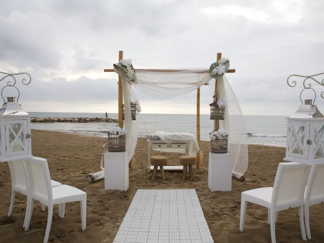 Matrimonio Spiaggia Anzio : Il matrimonio di maurizio e elisabetta a anzio roma