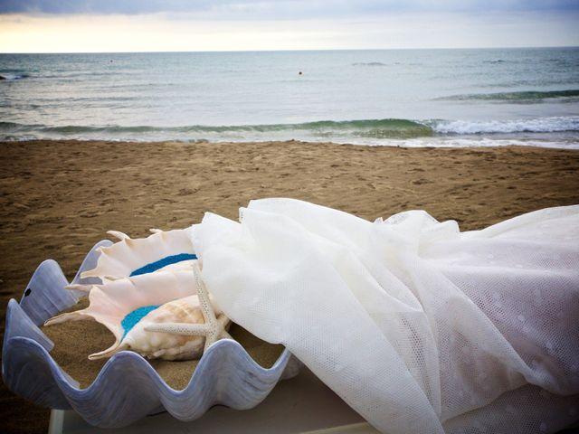 Matrimonio Spiaggia Anzio : Il matrimonio di maurizio e elisabetta a anzio roma matrimonio