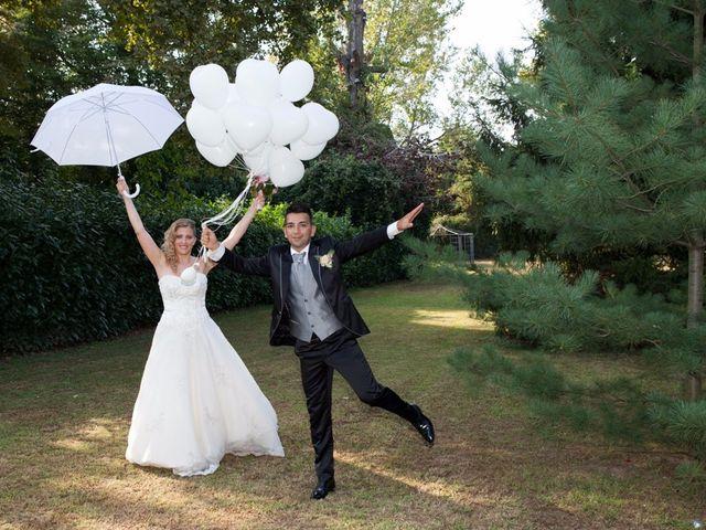 le nozze di Emanuela e Eugenio