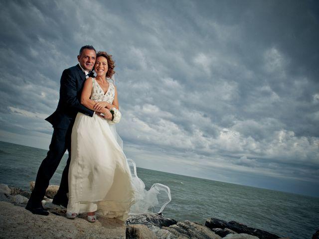 le nozze di Antonella e Enrico