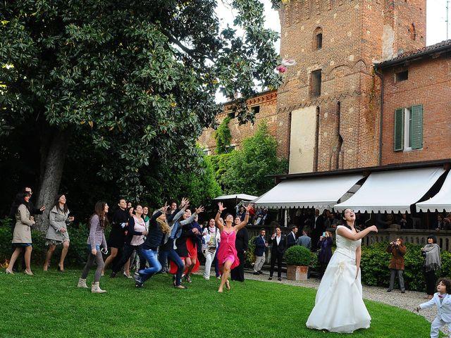Il matrimonio di jari e francesca a casanova elvo vercelli - Castello di casanova elvo ...