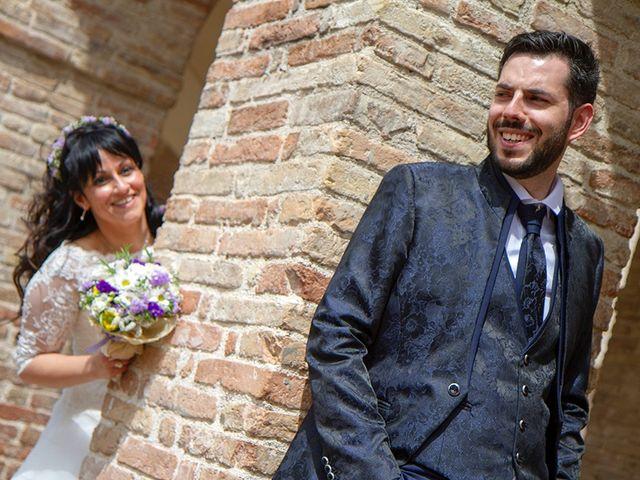 Il matrimonio di Andrea e Roberta a Rosora, Ancona 11