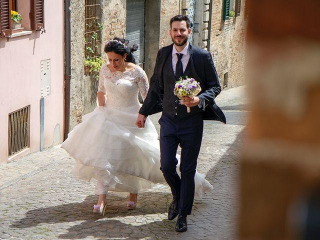Il matrimonio di Andrea e Roberta a Rosora, Ancona 12