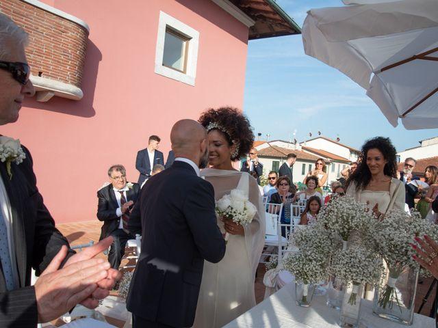 Il matrimonio di Andrea e Maria a Forte dei Marmi, Lucca 27