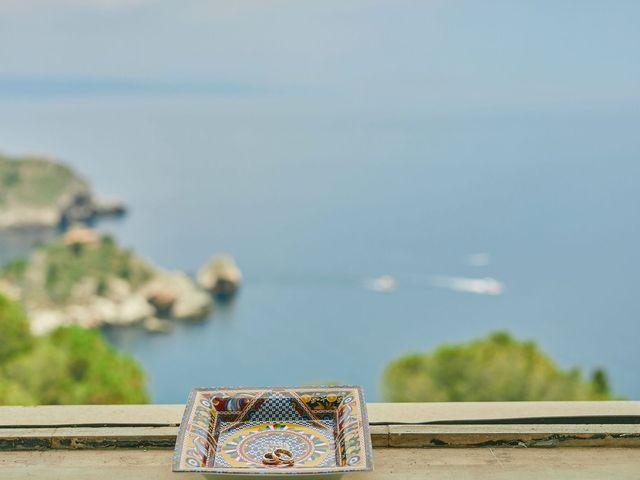 Il matrimonio di Marco e Vincenza a Taormina, Messina 18