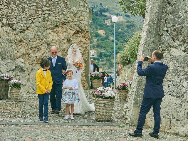 Il matrimonio di Marco e Vincenza a Taormina, Messina 58