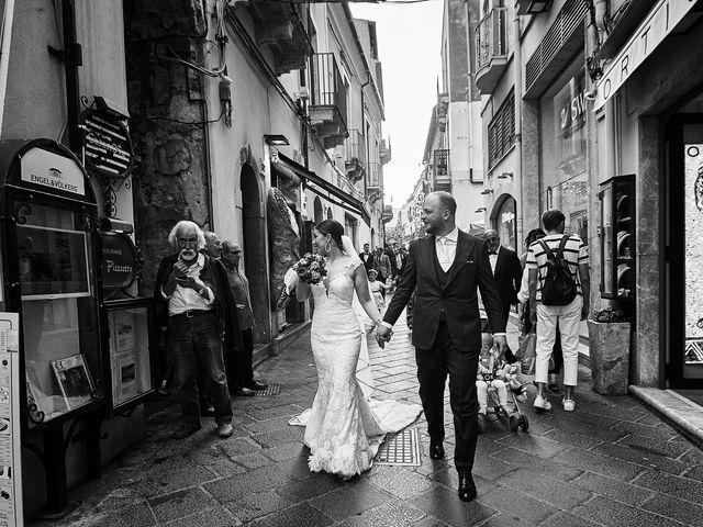 Il matrimonio di Marco e Vincenza a Taormina, Messina 75